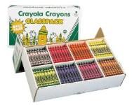 Crayons - Classpack 400