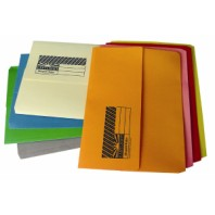Document Wallet Cardboard - Assorted Colours