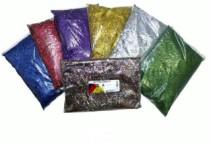 Glitter 250ml bag - Red
