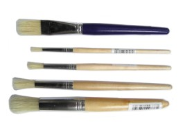 Paintbrushes - Stubbie Size 1