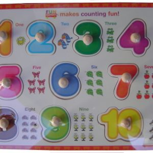 Puzzle - Numbers (Wood)