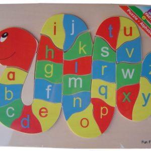 Puzzle - Alphabet Snake (Wood)