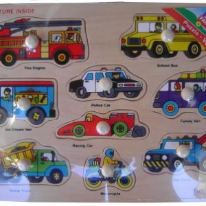 Puzzle - Vehicles (Wood)