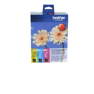 Brother LC39 - Colour 3 pack
