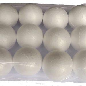 Styrofoam Balls 50mm (12)