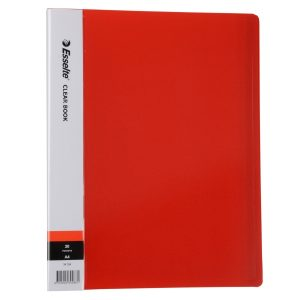 Display Book - 40 Page Red