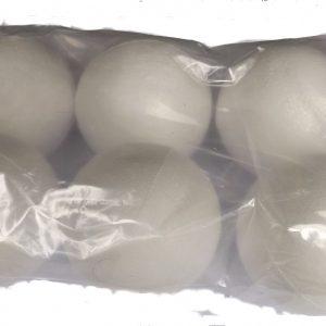 Styrofoam Balls 80mm (6)
