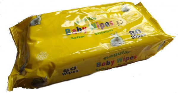 Wet Wipes Regular (80)