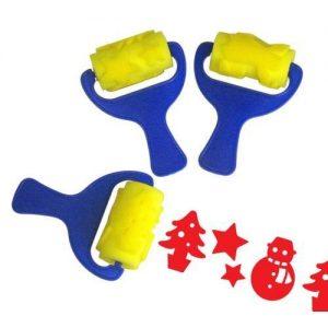 Rollers Sponge - Christmas (3)