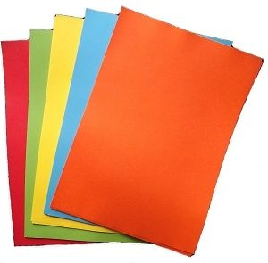 Bright Colour Paper Pack (250 SHEETS) A4