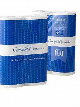 Toilet Paper 2 Ply (6 x 280 Sheets)