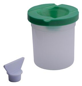 Paint Pots Non Spill (includes Lid and stopper)