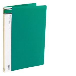 Display Book - 40 Page Green