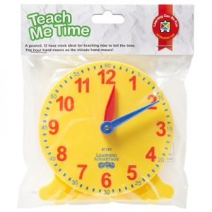 Clock - Teach Me Time