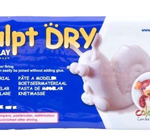 Clay White 1kg - Air Dry