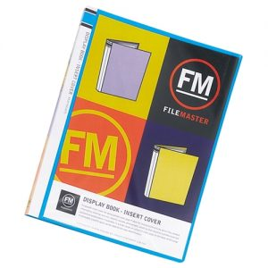Display Book with Insert Cover - 40 page  MIXED COLOURS