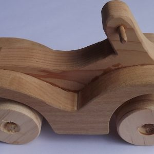 Wooden Car (item 2343)