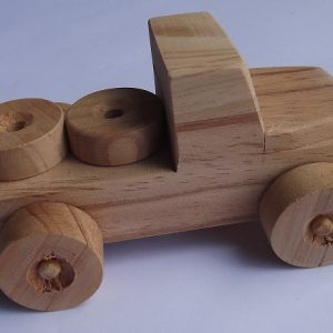 Wooden Car (item 2345)