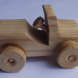 Wooden Car (item 2346)